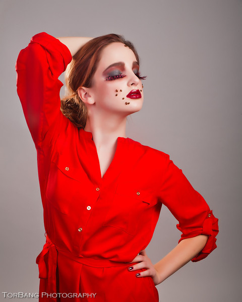 The Lady Bug Girl Model- Rachel Slawson MUA- Haley Davis
