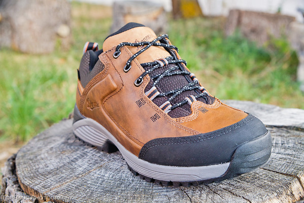 Women's Zig Zag Trail Brown Hiking Boots 115