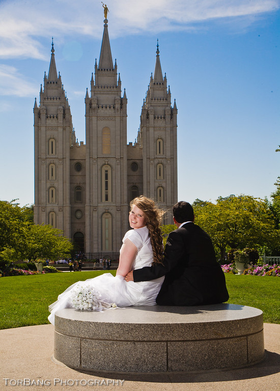 Kyrie and Daniel Married Aug 2, 2013 Salt Lake Temple Photos by Torsten Bangerter